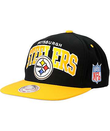 NFL Mitchell and Ness Pittsburgh Steelers Snapback Hat