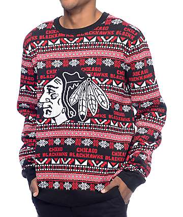 NHL Forever Collectibles Chicago Blackhawks Sweater