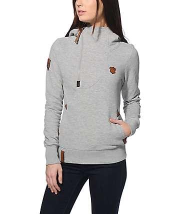Naketano Ankerbrautchen Grey Hoodie
