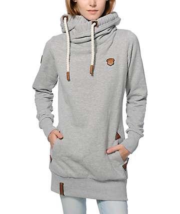 Naketano Baba Jaga Grey Hoodie