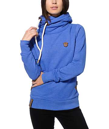 Naketano Darth IV Blue Hoodie