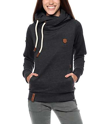 Naketano Darth IX Anthracite Hoodie