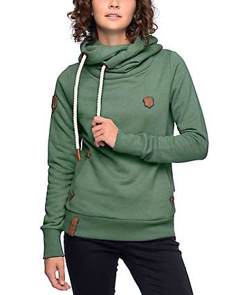 Naketano Darth IX Green Hoodie