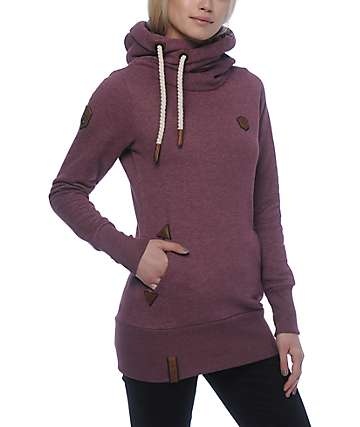 Naketano Darth Long VIII Bordeaux Hoodie