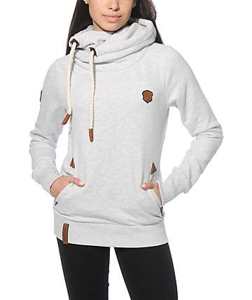 Naketano Darth VII Amazing Grey Melange Hoodie