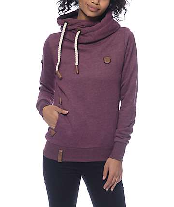 Naketano Darth VII Bordeaux Hoodie