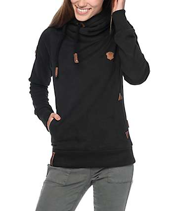 Naketano Darth VIII sudadera negra con capucha