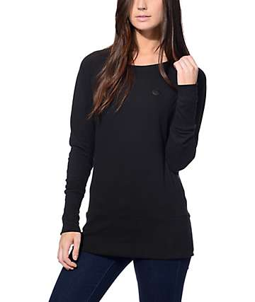 Naketano Groupie II Black Crew Neck Sweatshirt