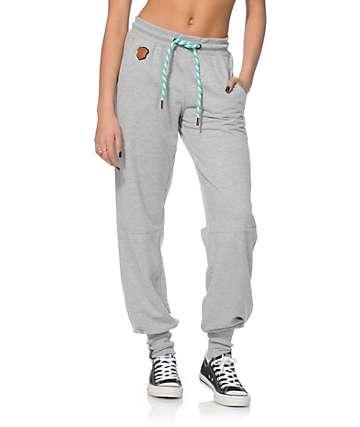 Naketano Iris VI Grey Melange Jogger Pants