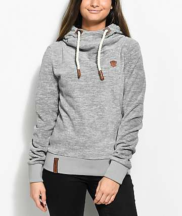 Naketano Kanisterkopf Grey Tech Fleece
