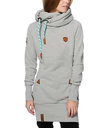 Naketano Lange VII Grey Hoodie