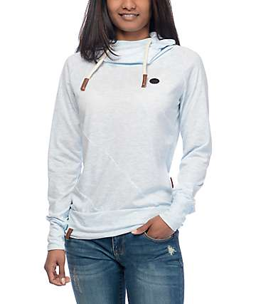 Naketano Mandy X sudadera azul con capucha