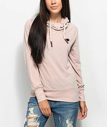 Naketano Mandy XI Dusty Pink Hoodie