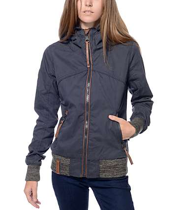 Naketano Pallaverolle Dark Blue Jacket