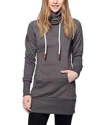Naketano Salami Jones II Dark Grey Sweatshirt