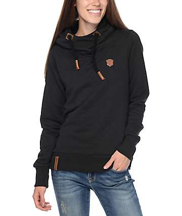 Naketano Schmierlappen VI Black Hoodie