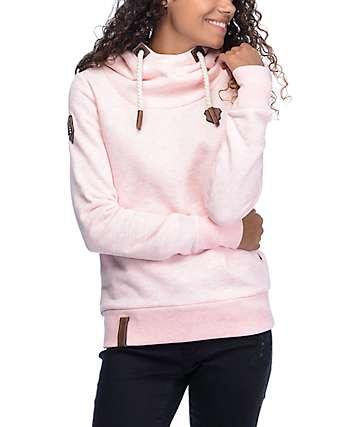 Naketano Schmierlappen VII sudadera con capucha en rosa