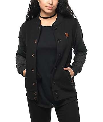 Naketano chaqueta universitaria en negro