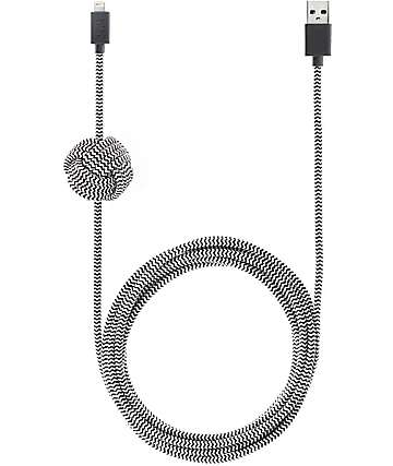 Native Union Night Lightning Zebra Charging Cable