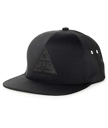 Neff Absolute X Black Strapback Hat