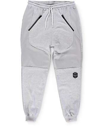 Neff Battle Swetz Heather Grey Jogger Pants