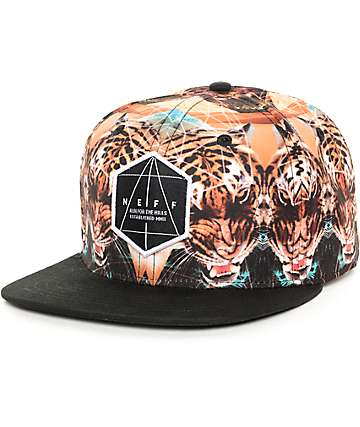 Neff Battlekat Black Snapback Hat