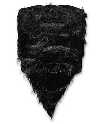 Neff Black Bearded Face Mask