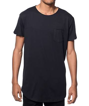 Neff Bosley Black Long Pocket T-Shirt