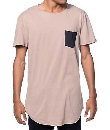 Neff Bosley Tan Long Pocket T-Shirt