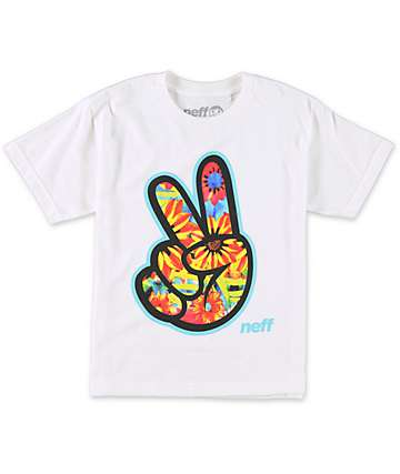 Neff Boys Concord White T-Shirt