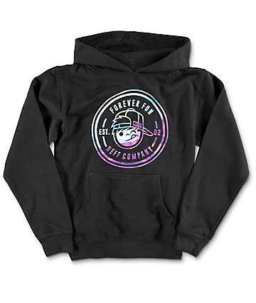 Neff Boys Fun Emblem Black Hoodie