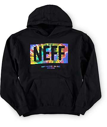 Neff Boys Tie Dye New World Hoodie