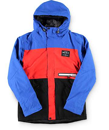 Neff Boys Trifecta Blue 10K Snowboard Jacket