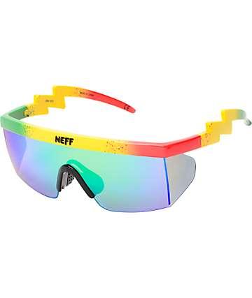 Neff Brodie Rasta Sunglasses