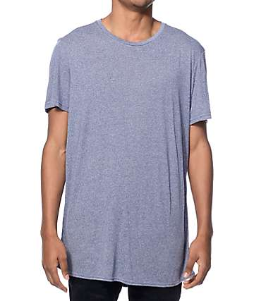 Neff Bronson Heather Blue Long T-Shirt