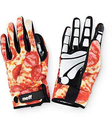 Neff Chameleon Pizza Pipe Snowboard Gloves