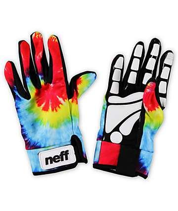 Neff Chameleon Tie Dye Pipe Snowboard Gloves
