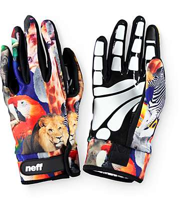 Neff Chameleon Wildlife Pipe Snowboard Gloves