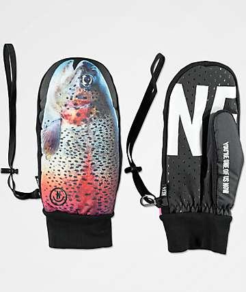 Neff Character Fishy Snowboard Mittens