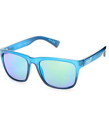 Neff Chip Blue Crystal Sunglasses
