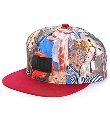 Neff Climber Wildlife Snapback Hat