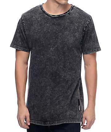 Neff Contact Black Washed T-Shirt