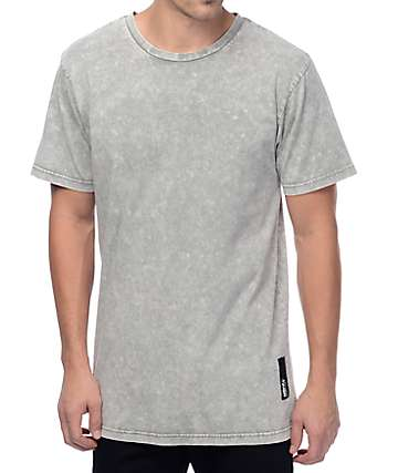 Neff Contact Grey Washed T-Shirt