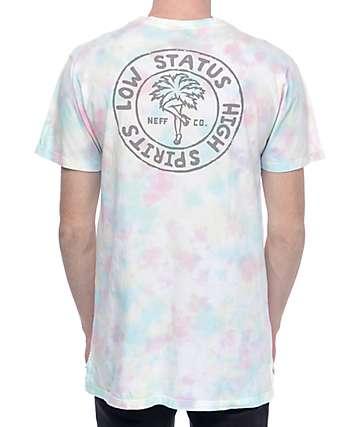 Neff Cronies Multi Tie-Dye T-Shirt