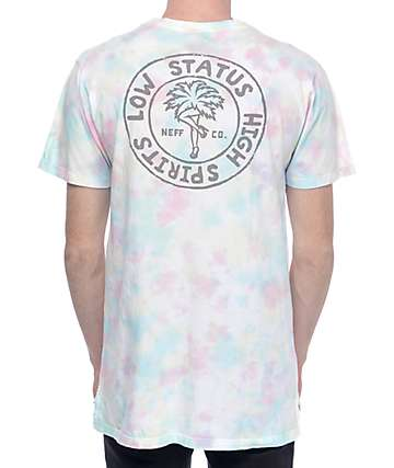 Neff Cronies camiseta con efecto tie dye