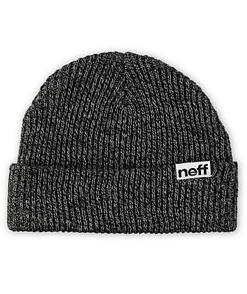 Neff Cuff Black & Grey Beanie