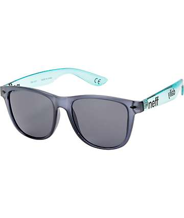Neff Daily Black & Ice Clear Sunglasses