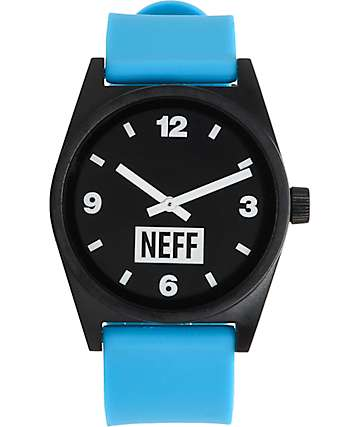 Neff Daily Cyan & Black Watch