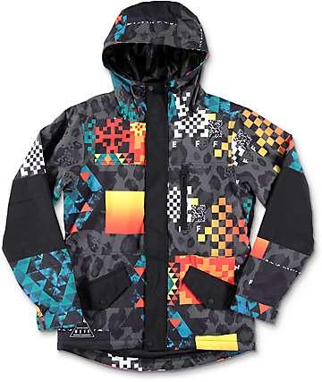 Neff Daily Psych safari chaqueta de snowboard para niños