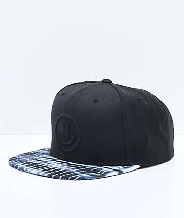 Neff Daily Smile Black Snapback Hat